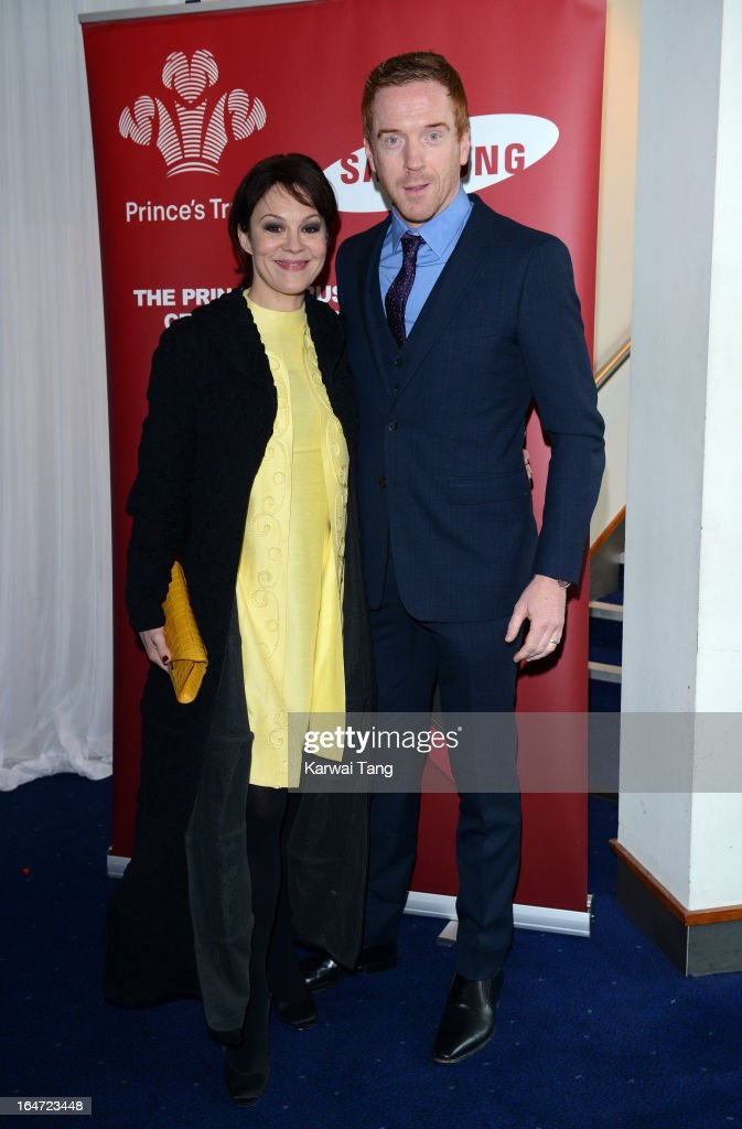 Helen McCrory and Damian Lewis attends the Prince's Trust Celebrate Success Awards at Odeon Leicester Square on March 26, 2013 in London, England.