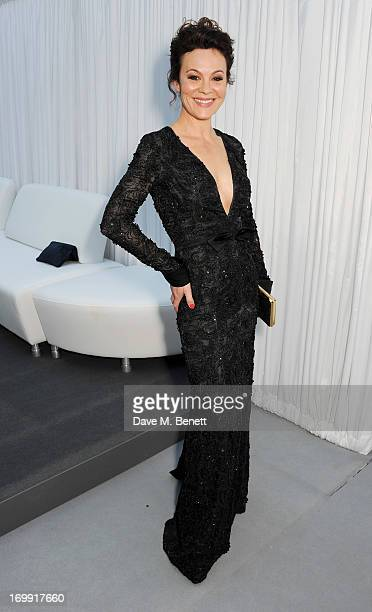 Helen McCrory arrives at the Glamour Women of the Year Awards in association with Pandora at Berkeley Square Gardens on June 4 2013 in London England