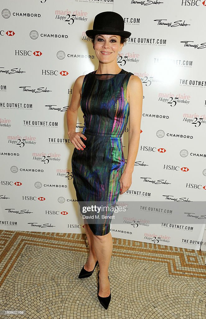 Helen McCrory arrives at the Marie Claire 25th birthday celebration featuring Icons of Our Time in association with The Outnet at the Cafe Royal Hotel on September 17, 2013 in London, England.