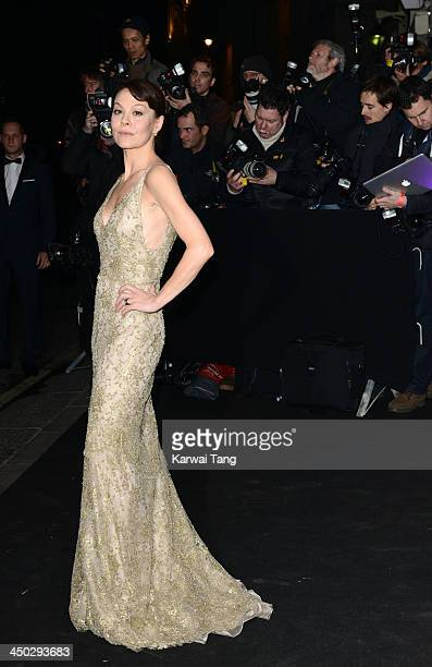 Helen McCrory arrives for the London Evening Standard Theatre Awards held at the Savoy Hotel on November 17 2013 in London England