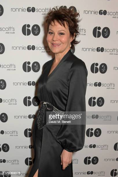 Helen McCrory attends A Night At Ronnie Scotts 60th Anniversary Gala at the Royal Albert Hall on October 30 2019 in London England