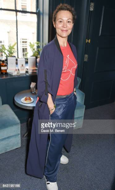 Helen McCrory attends a private breakfast hosted by Azzi Glasser to launch of new fragrance 'After Hours' created by The Perfumer's Story exclusively...
