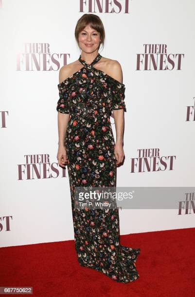 Helen McCrory attends a special presentation screening of 'Their Finest' at BFI Southbank on April 12 2017 in London United Kingdom