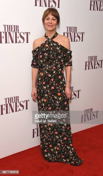 Helen McCrory attends a special screening of 'Their Finest' at the BFI Southbank on April 12 2017 in London England
