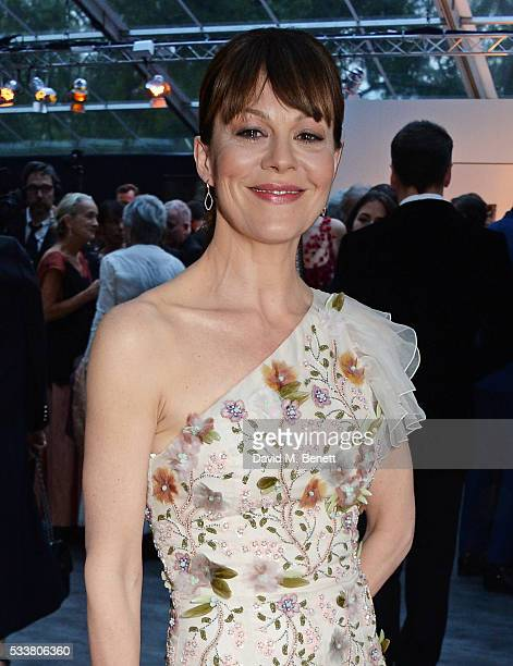 Helen McCrory attends British Vogue's Centenary gala dinner at Kensington Gardens on May 23 2016 in London England