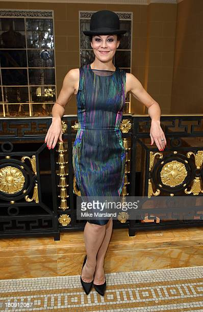 Helen McCrory attends the 25th birthday party of Marie Claire at Hotel Cafe Royal on September 17 2013 in London England