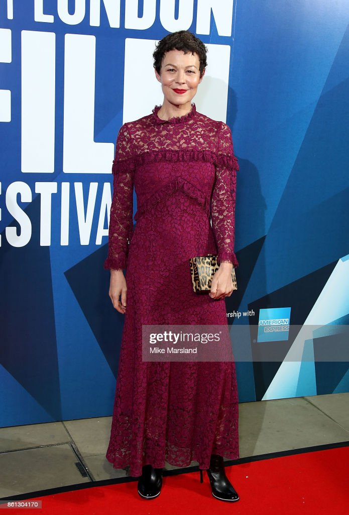 Helen McCrory attends the 61st BFI London Film Festival Awards on October 14, 2017 in London, England.