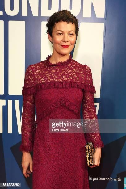 Helen McCrory attends the 61st BFI London Film Festival Awards on October 14 2017 in London England