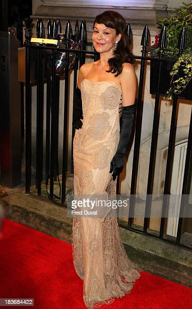 Helen McCrory attends the BFI Gala Dinner at 8 Northumberland Avenue on October 8 2013 in London England
