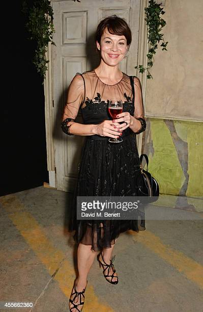 Helen McCrory attends the Bright Young Things Gala 2014 a Young Patrons of the National Theatre gala event in support of emerging artists at The...