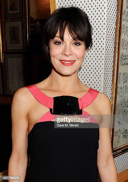 Helen McCrory attends the Charles Finch and Chanel PreBAFTA cocktail party and dinner at Annabel's on February 8 2013 in London England