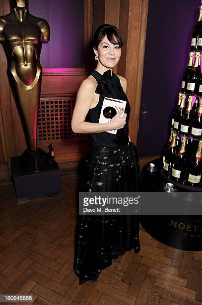 Helen McCrory attends the London Evening Standard British Film Awards supported by Moet Chandon and Chopard at the London Film Museum on February 4...