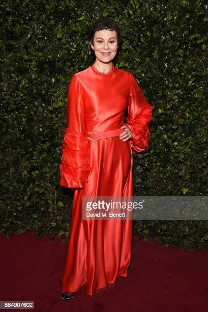 Helen McCrory attends the London Evening Standard Theatre Awards 2017 at the Theatre Royal Drury Lane on December 3 2017 in London England