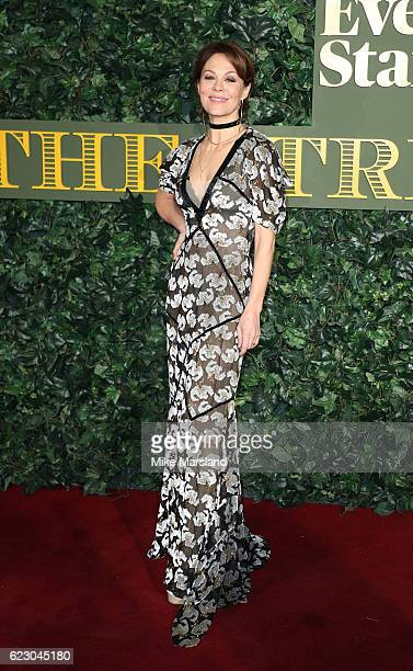 Helen McCrory attends The London Evening Standard Theatre Awards at The Old Vic Theatre on November 13 2016 in London England