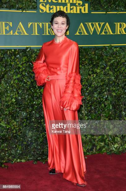 Helen McCrory attends the London Evening Standard Theatre Awards at Theatre Royal on December 3 2017 in London England