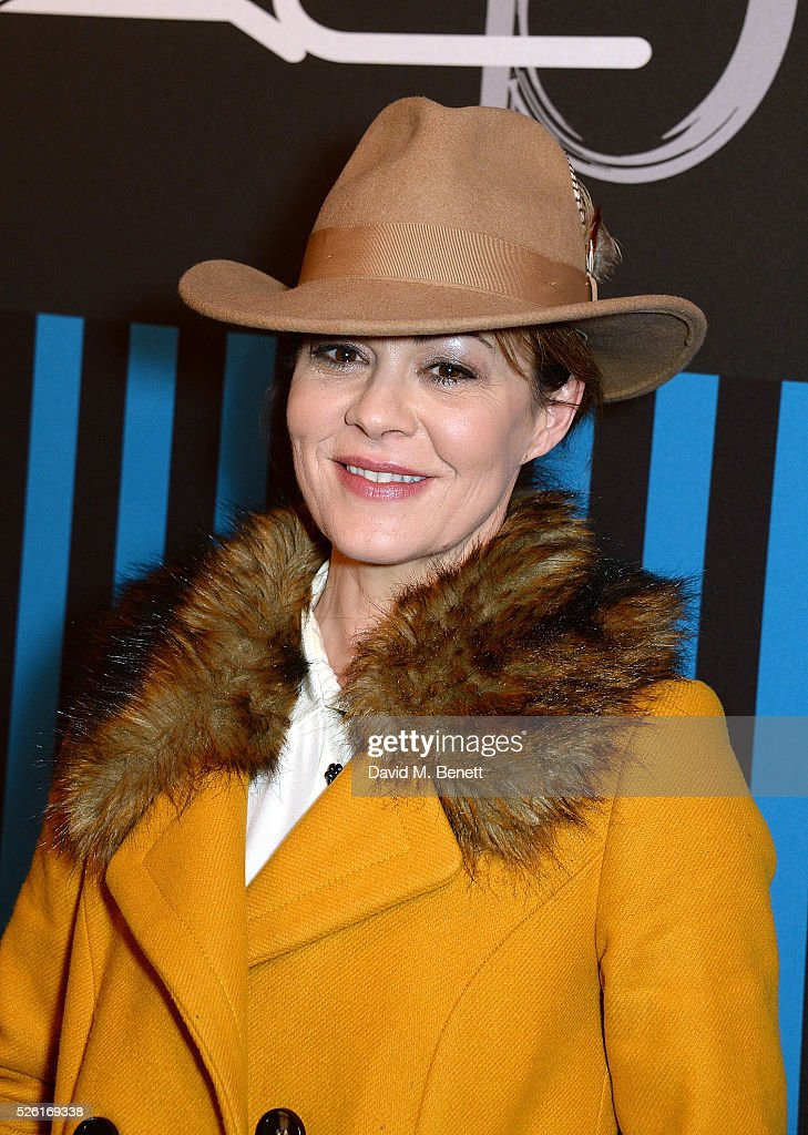 Helen McCrory attends the MAC Pro to Pro Textile Party at London's Camden Roundhouse on April 29, 2016 in London, England.