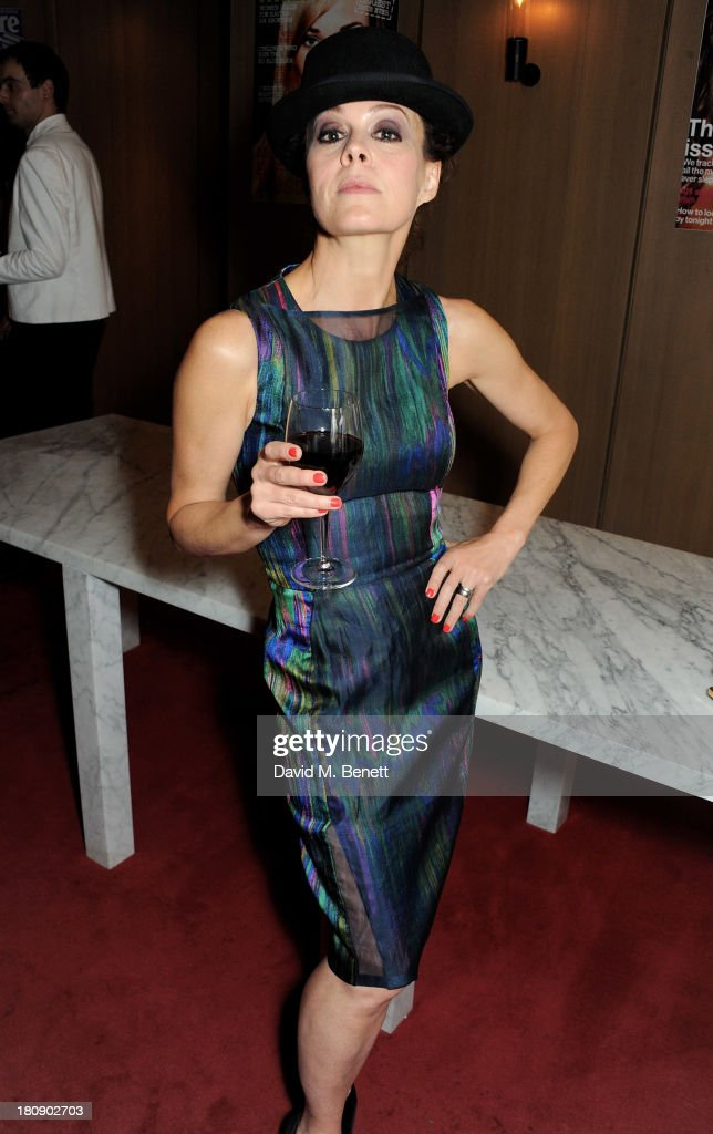 Helen McCrory attends the Marie Claire 25th birthday celebration featuring Icons of Our Time in association with The Outnet at the Cafe Royal Hotel on September 17, 2013 in London, England.