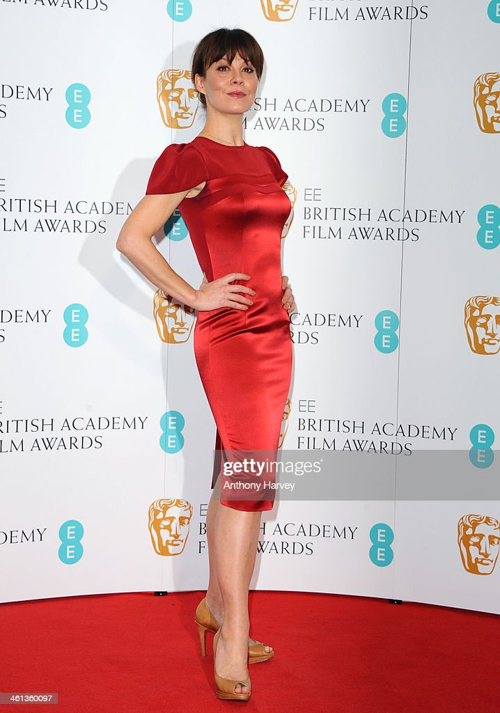 Helen McCrory attends the nominations photocall for the EE British Academy Film Awards at BAFTA on January 8, 2014 in London, England.