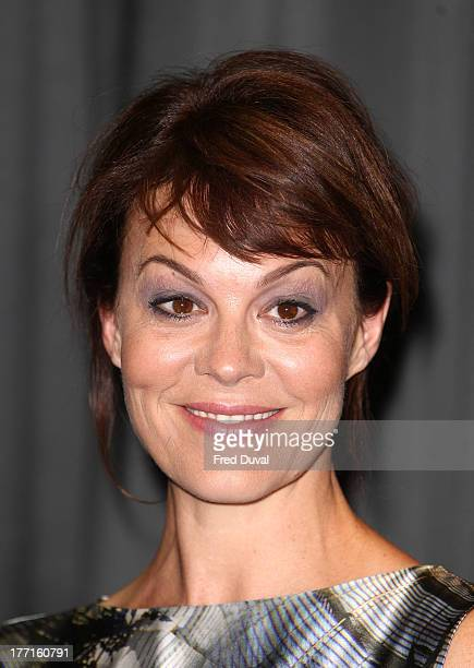 Helen McCrory attends the premiere of 'Peaky Blinders' at National Film Theatre on August 21 2013 in London England