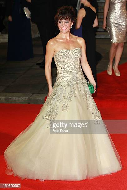 Helen McCrory attends the Royal World Premiere of 'Skyfall' at Royal Albert Hall on October 23 2012 in London England