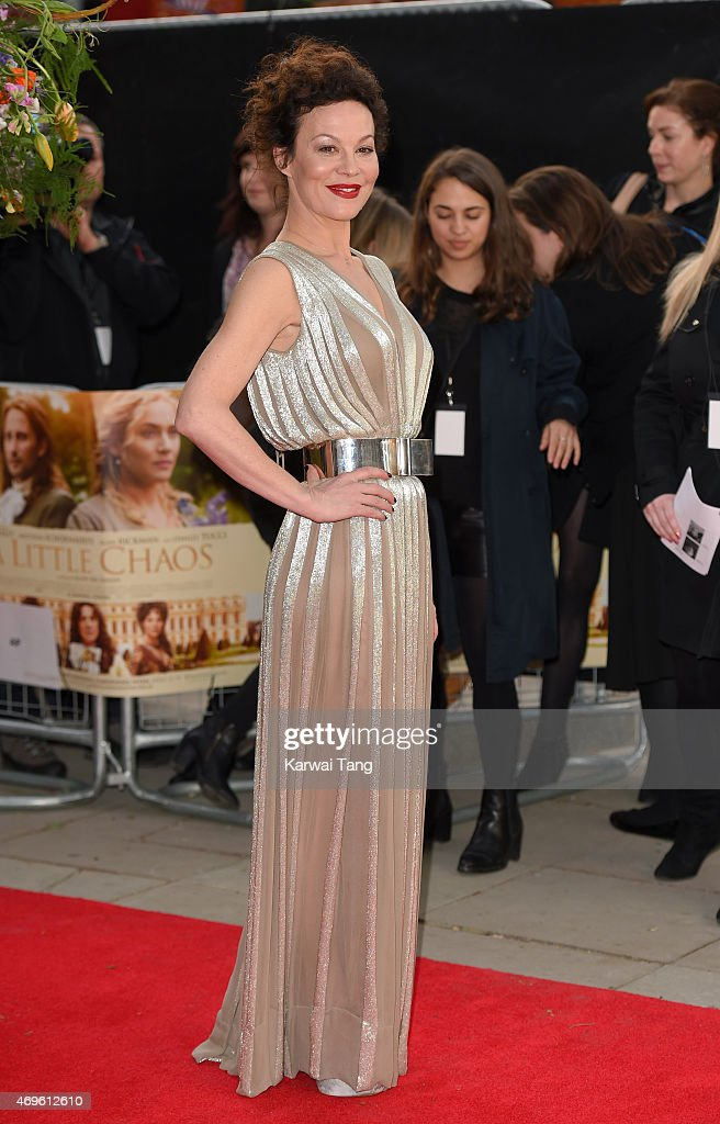 Helen McCrory attends the UK premiere of 'A Little Chaos' at Odeon Kensington on April 13, 2015 in London, England.