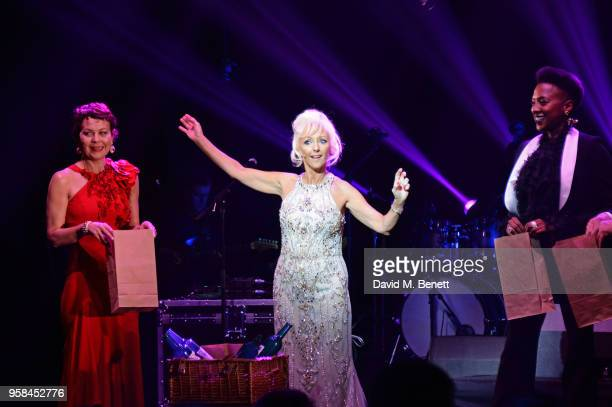 Helen McCrory, Debbie McGee and Jade Anouka attend The Old Vic Bicentenary Ball to celebrate the theatre's 200th birthday at The Old Vic Theatre on...