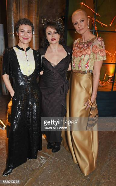 Helen McCrory Helena Bonham Carter and Joely Richardson attend Save The Children's Magical Winter Gala celebrating the 20th anniversary since the...