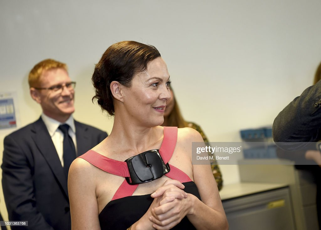 Helen McCrory representing the Sir Hubert Von Herkomer Foundation attends the BGC Charity Day at One Churchill Place on September 11, 2018 in London, England.