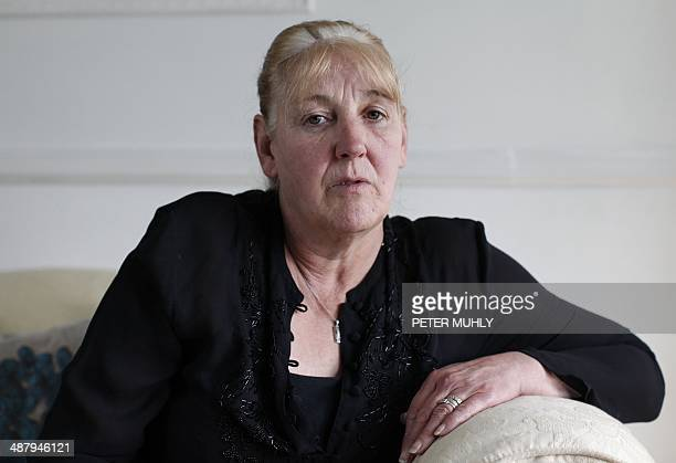 Helen McKendry eldest daughter of murdered woman Jean McConville poses for a photograph at her home in Northern Ireland on May 3 2014 Jean McConville...