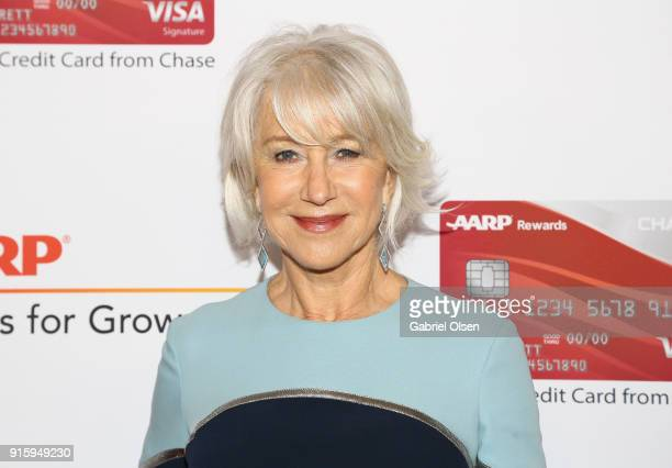 Helen Miren attends AARP's 17th Annual Movies For Grownups Awards at the Beverly Wilshire Four Seasons Hotel on February 5 2018 in Beverly Hills...