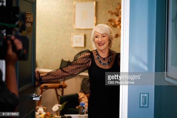 Helen Mirren and JK Simmons chat with James Corden during 'The Late Late Show with James Corden' Tuesday January 30 2018 On The CBS Television Network