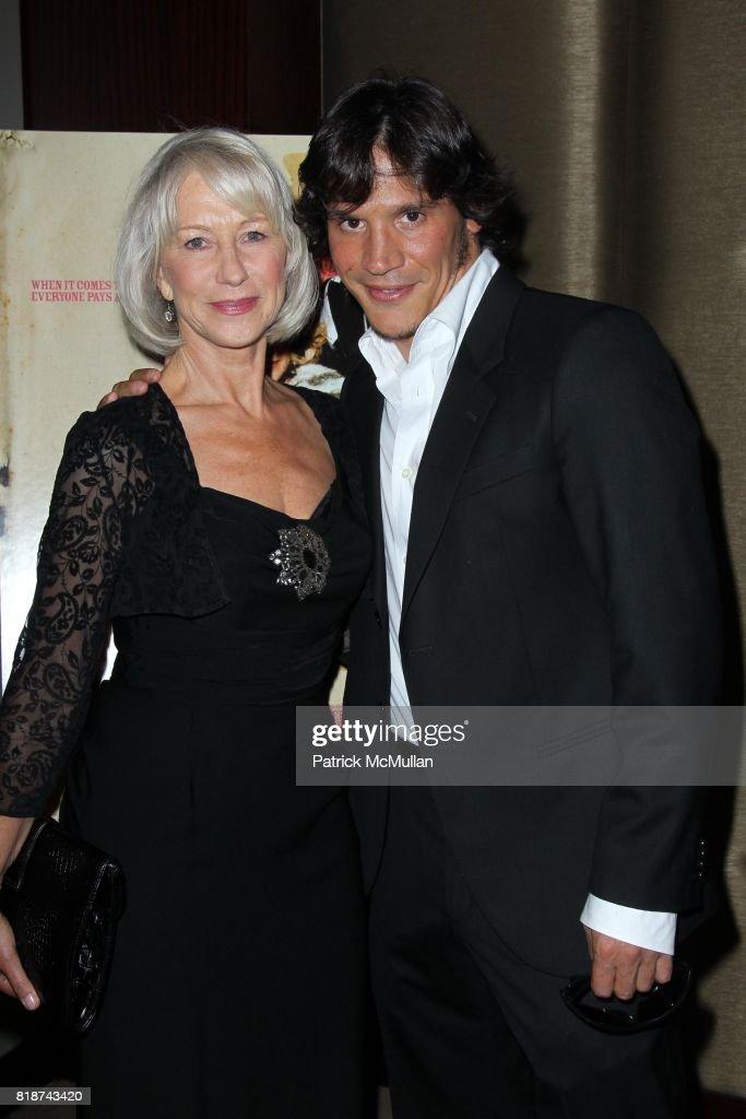 Helen Mirren And Sergio Peris Mencheta Attend E1 Entertainment Presents The New York Premiere Of