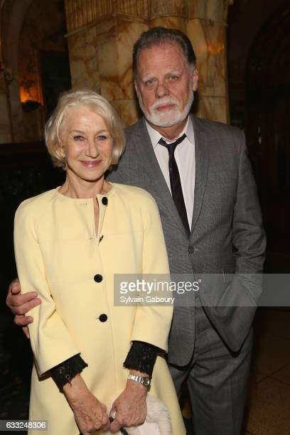 Helen Mirren and Taylor Hackford attend The Cinema Society with Avion and Jergens Host the After Party for Sony Pictures Classics' The Comedian on...