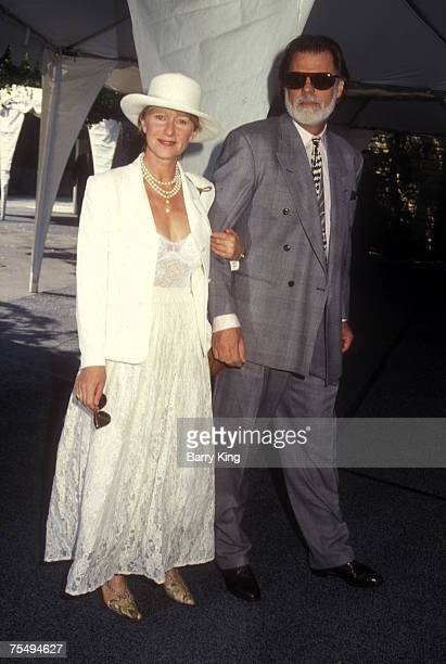 Helen Mirren and Taylor Hackford in Los Angeles CA