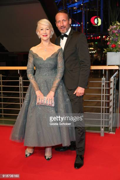 Helen Mirren and Wotan Wilke Moehring attend the Opening Ceremony 'Isle of Dogs' premiere during the 68th Berlinale International Film Festival...