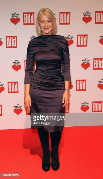 Helen Mirren arrives for the 'Ein Herz fuer Kinder' Charity Gala on December 17 2011 in Berlin Germany