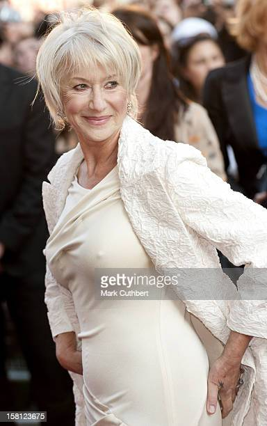 Helen Mirren Arriving For The Uk Film Premiere Of 'State Of Play' At The Empire Leicester Square London