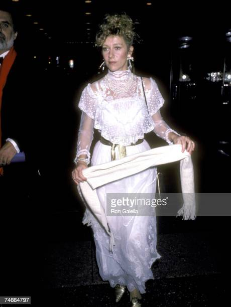 Helen Mirren at the Coronet Theatre in New York City New York
