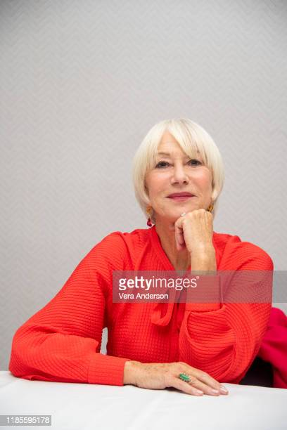 Helen Mirren at The Good Liar Press Conference at the Conrad Hotel on November 04 2019 in New York City