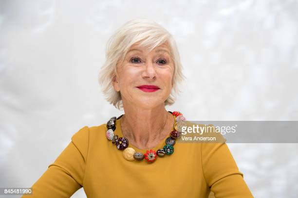 Helen Mirren at The Leisure Seeker Press Conference at the Fairmont Royal York Hotel on September 9 2017 in Toronto Canada