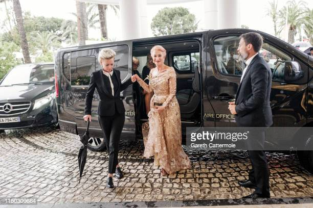 Helen Mirren at the Martinez Hotel during the 72nd annual Cannes Film Festival on May 18, 2019 in Cannes, France.
