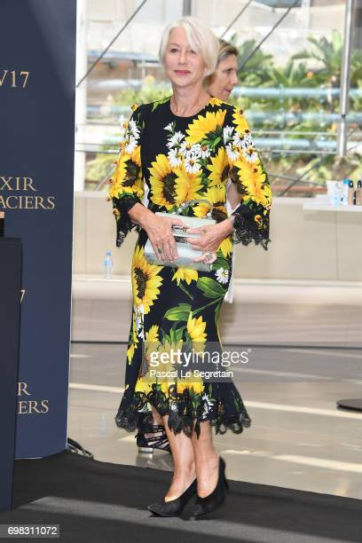 Helen Mirren attends a photocall at the Grimaldi Forum on day 5 of the 57th Monte Carlo TV Festival on June 20 2017 in MonteCarlo Monaco