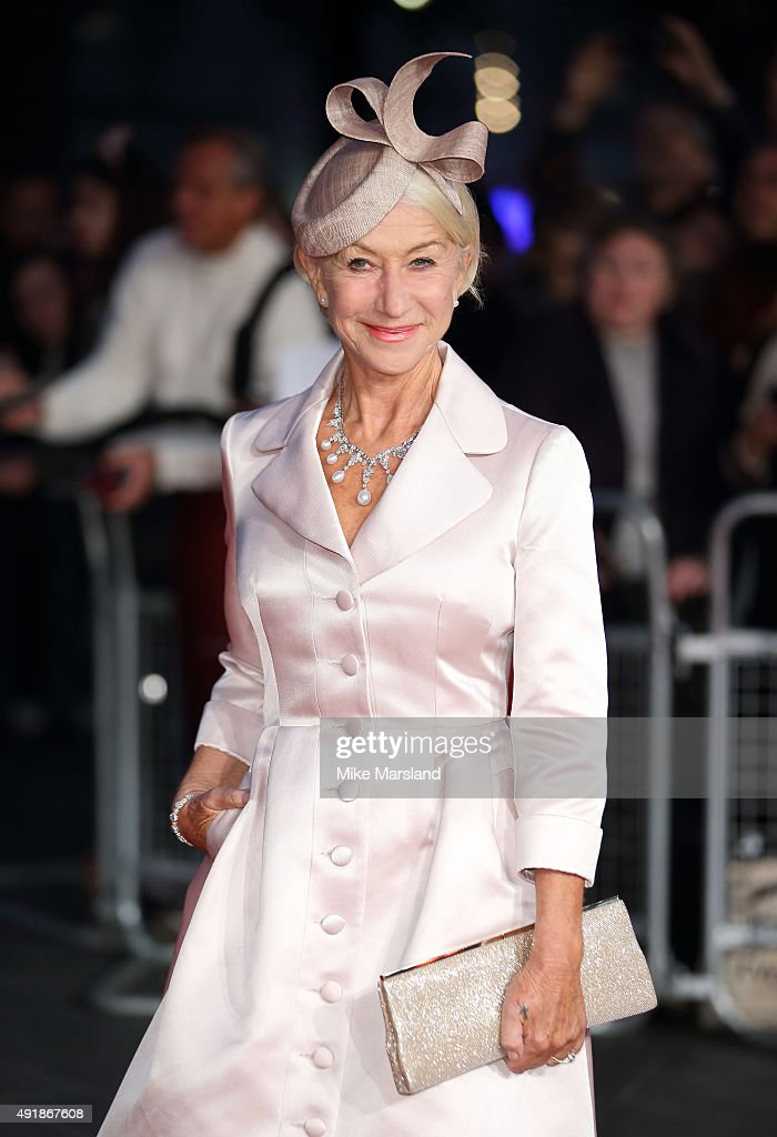 Helen Mirren attends a screening of 'Trumbo' during the BFI London Film Festival at Odeon Leicester Square on October 8, 2015 in London, England.