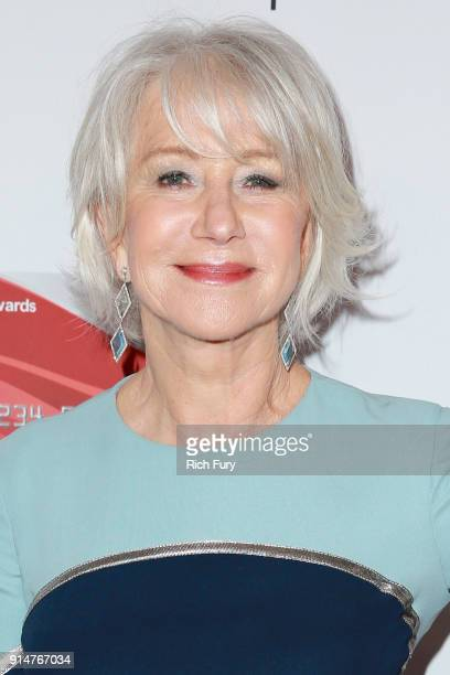 Helen Mirren attends AARP's 17th Annual Movies For Grownups Awards at the Beverly Wilshire Four Seasons Hotel on February 5 2018 in Beverly Hills...