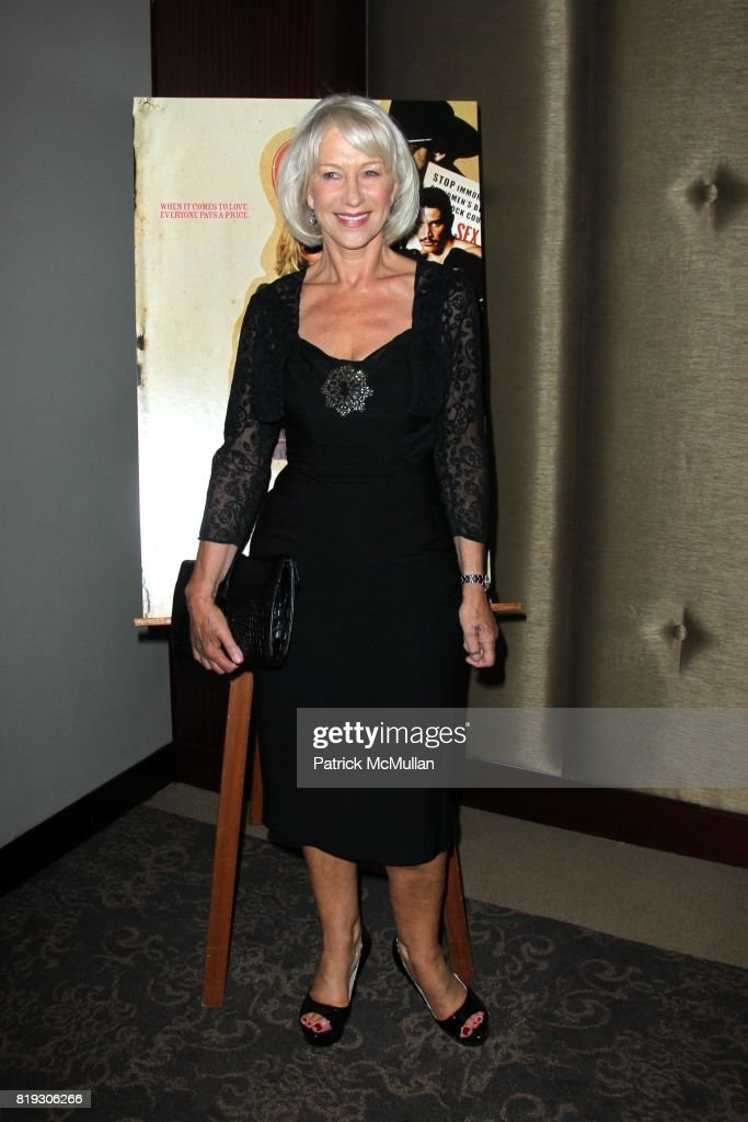 Helen Mirren Attends E1 Entertainment Presents The New York Premiere Of Love Ranch At Dolby Screening