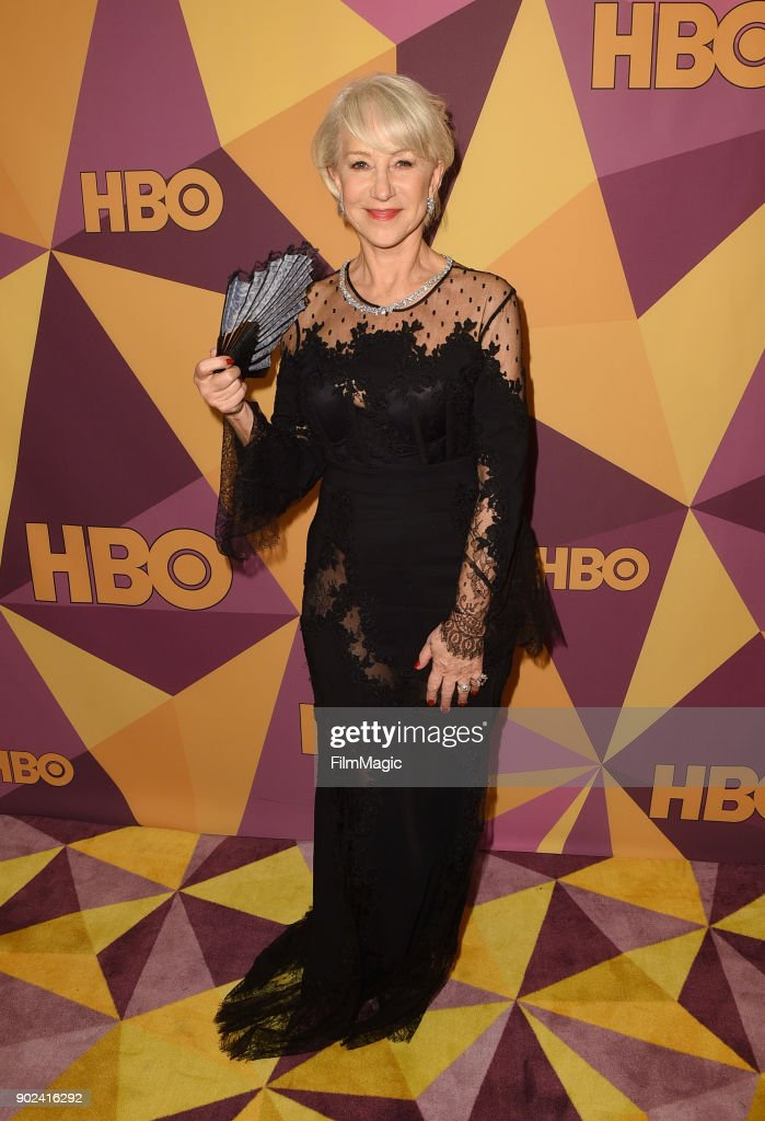 Helen Mirren attends HBO's Official 2018 Golden Globe Awards After Party on January 7, 2018 in Los Angeles, California.