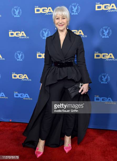 Helen Mirren attends the 71st Annual Directors Guild of America Awards at The Ray Dolby Ballroom at Hollywood Highland Center on February 02 2019 in...