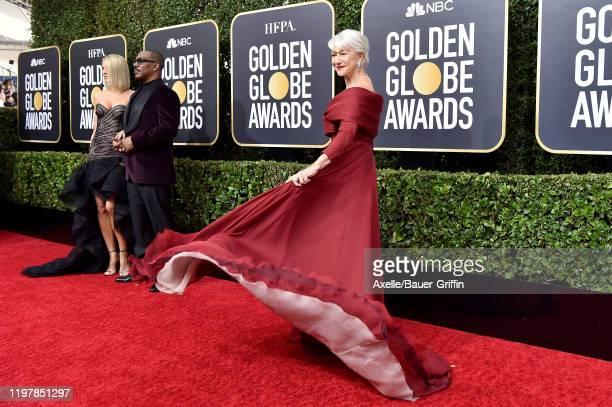 Helen Mirren attends the 77th Annual Golden Globe Awards at The Beverly Hilton Hotel on January 05, 2020 in Beverly Hills, California.