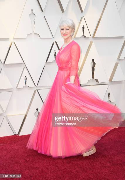 Helen Mirren attends the 91st Annual Academy Awards at Hollywood and Highland on February 24 2019 in Hollywood California