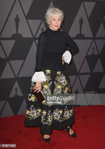 Helen Mirren attends the Academy of Motion Picture Arts and Sciences' 9th Annual Governors Awards at The Ray Dolby Ballroom at Hollywood Highland...